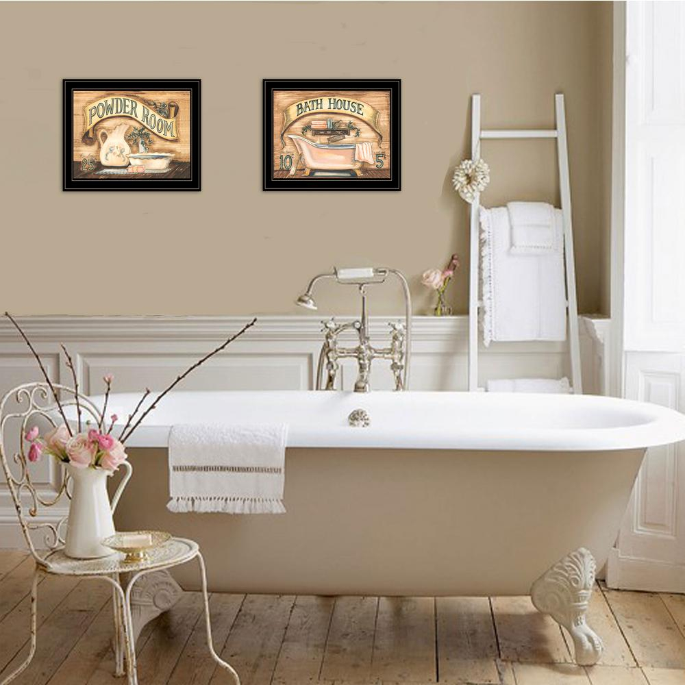 Trendy Decor 4u Bath And Powder Room Becca Barton Framed Wall