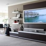 Tv Cabinet Designs For Living Room India Tv Cabinet On Wall