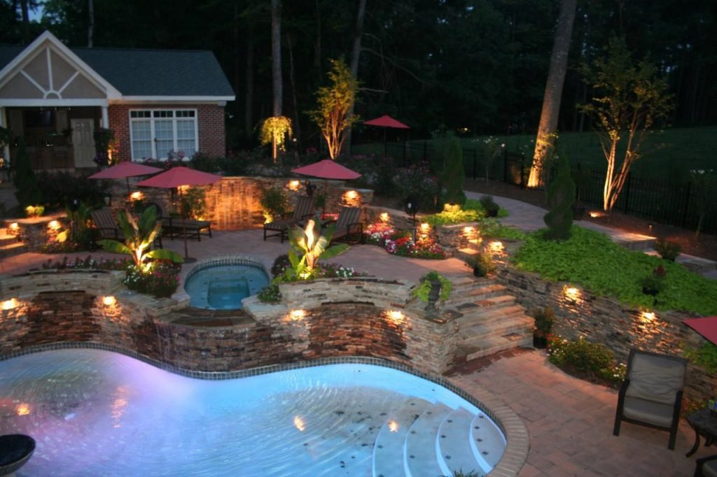 Unique Outdoor Lighting Ideas Dream Home Diseos De Jardines