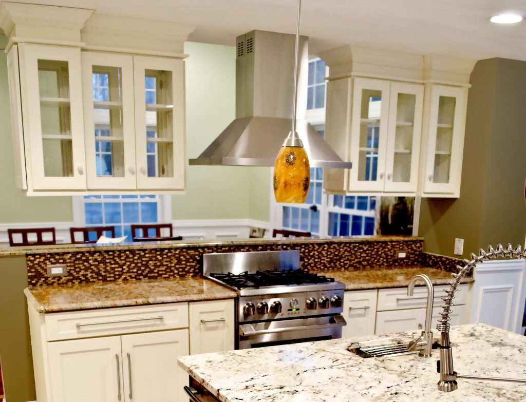 Upper Kitchen Cabinets With Glass Doors On Both Sides Kitchen Cabinet