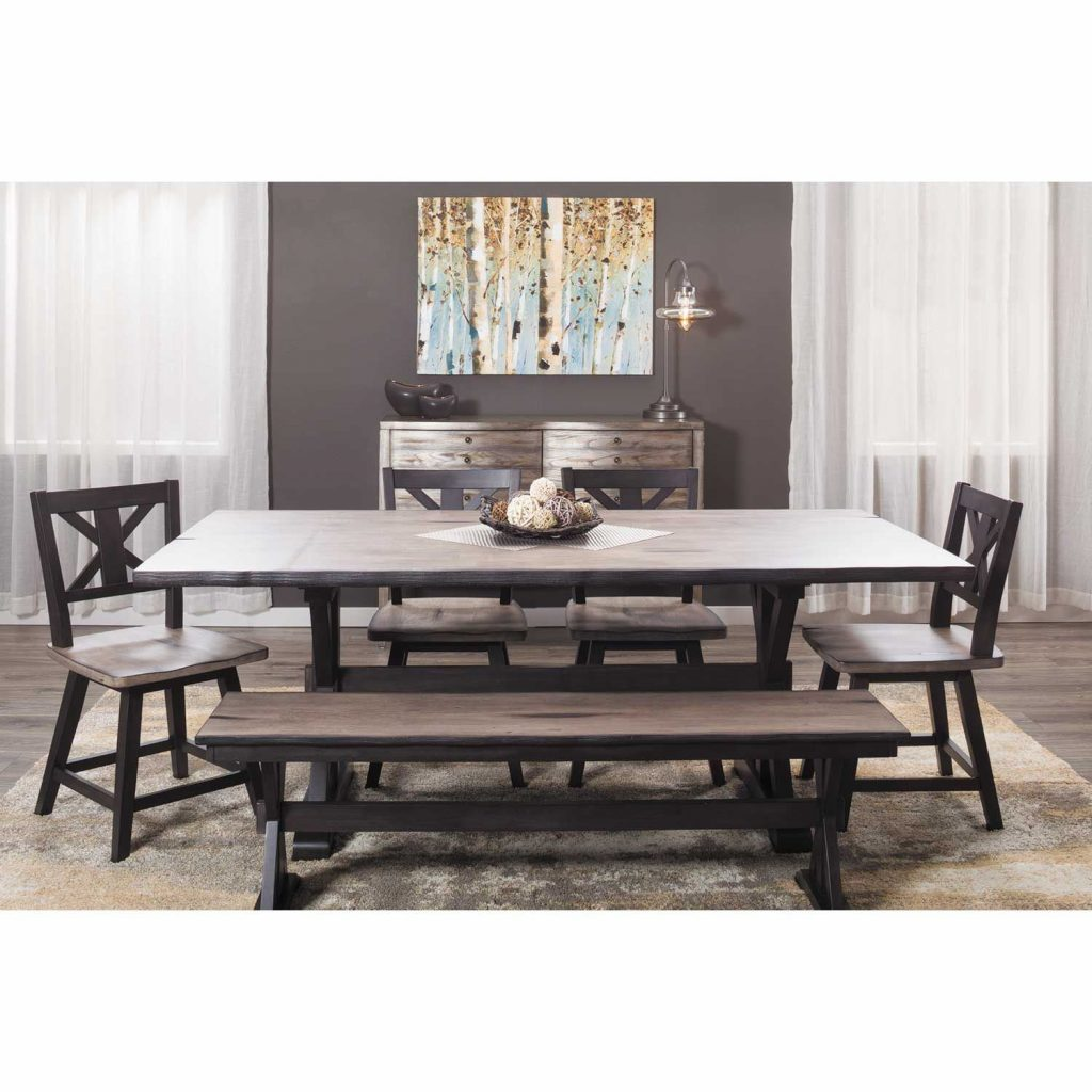 Urban Farmhouse Dining Table 1871 Urban Styles Furniture Afw