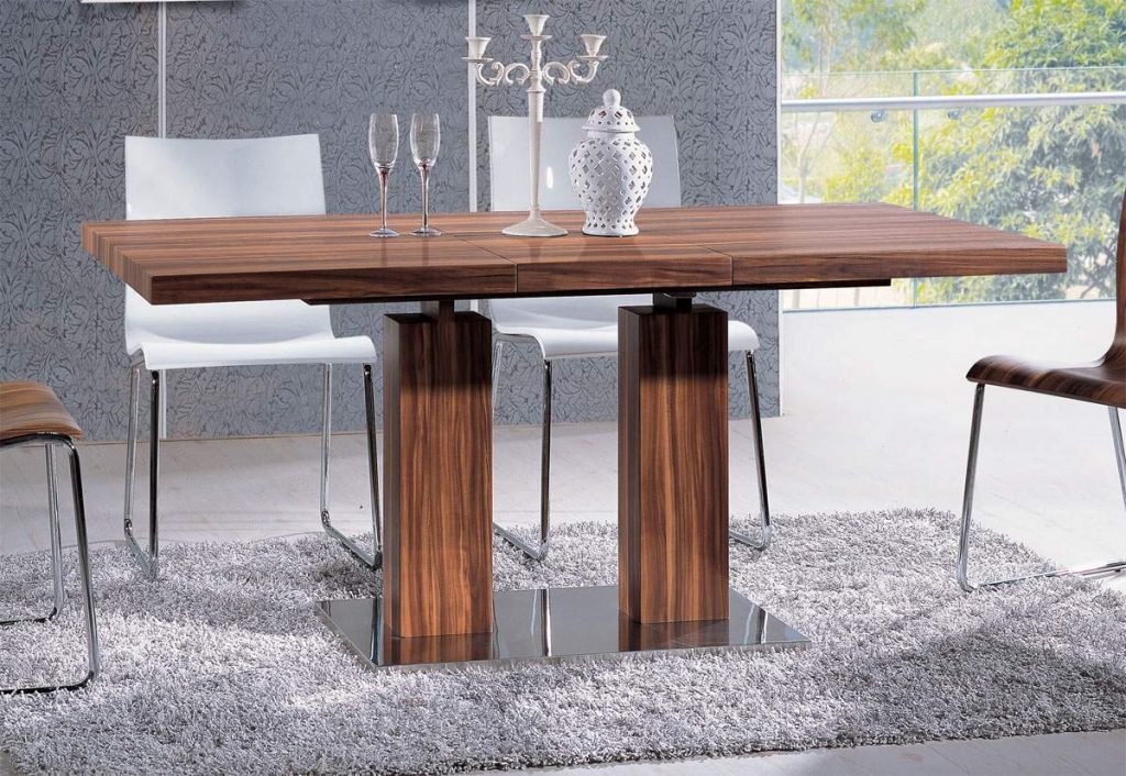 Versatile Transitional Durably Scaled Dining Room Table Base Pomona