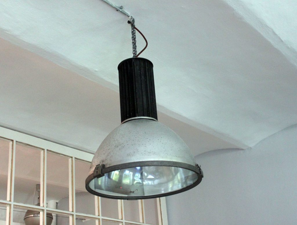 Vintage Industrial Pendant Lamp From Aeg For Sale At Pamono