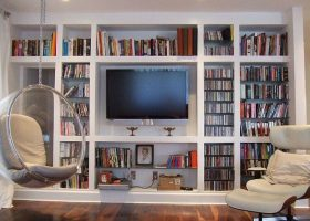 Living Room Wall Shelving Units