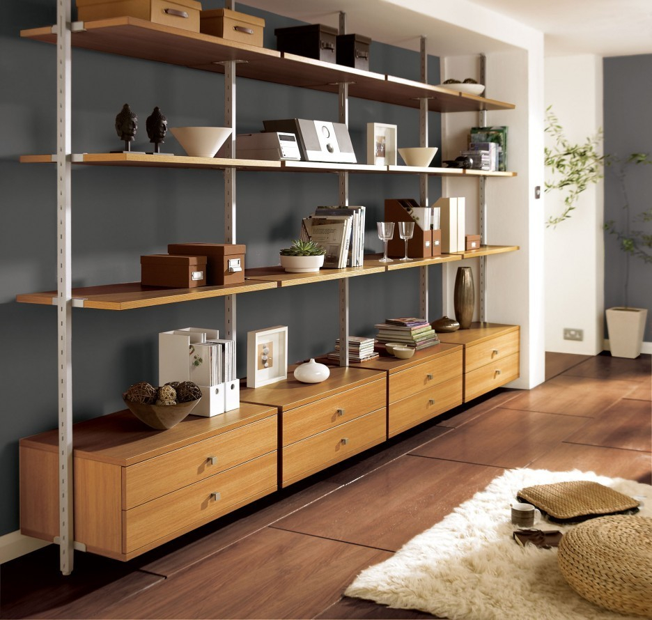 Wall Units Extraordinary Large Wall Shelving Units Wall To Wall