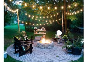 Outdoor String Lighting Ideas