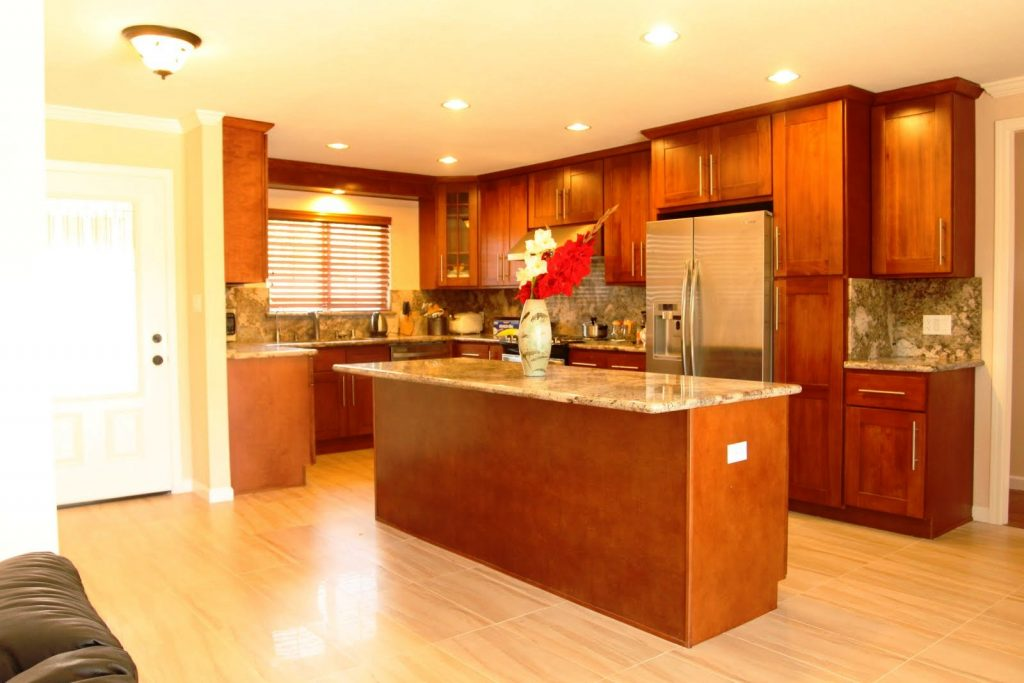 What Color Hardwood Floor With Cherry Cabinets Hardwoods