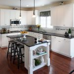 Kitchen Countertop Colors with White Cabinets