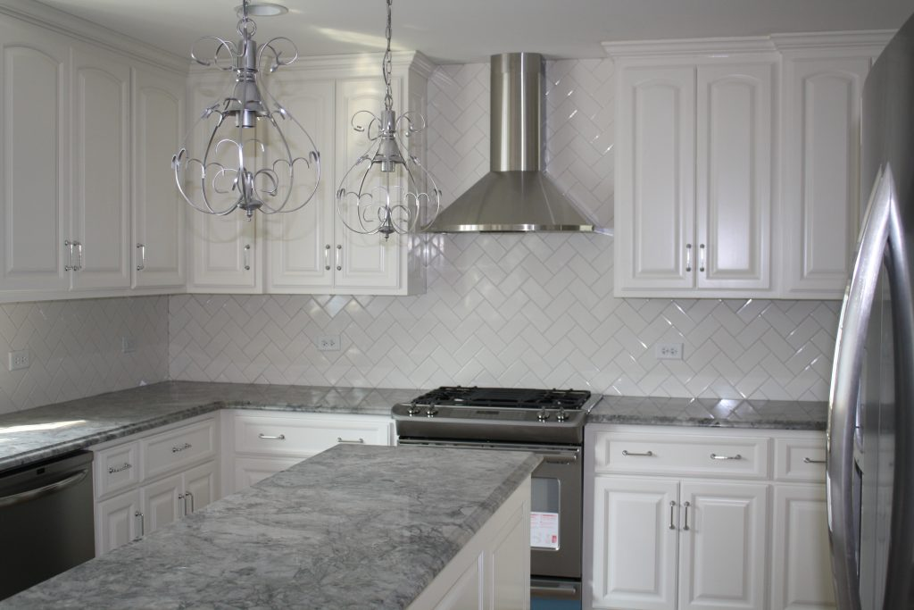White And Gray Countertops Best Home Renovation 2019 Kellys Depot
