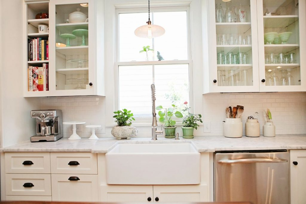 White Farmhouse Kitchen Cabinets Farmhouse Design And Furniture