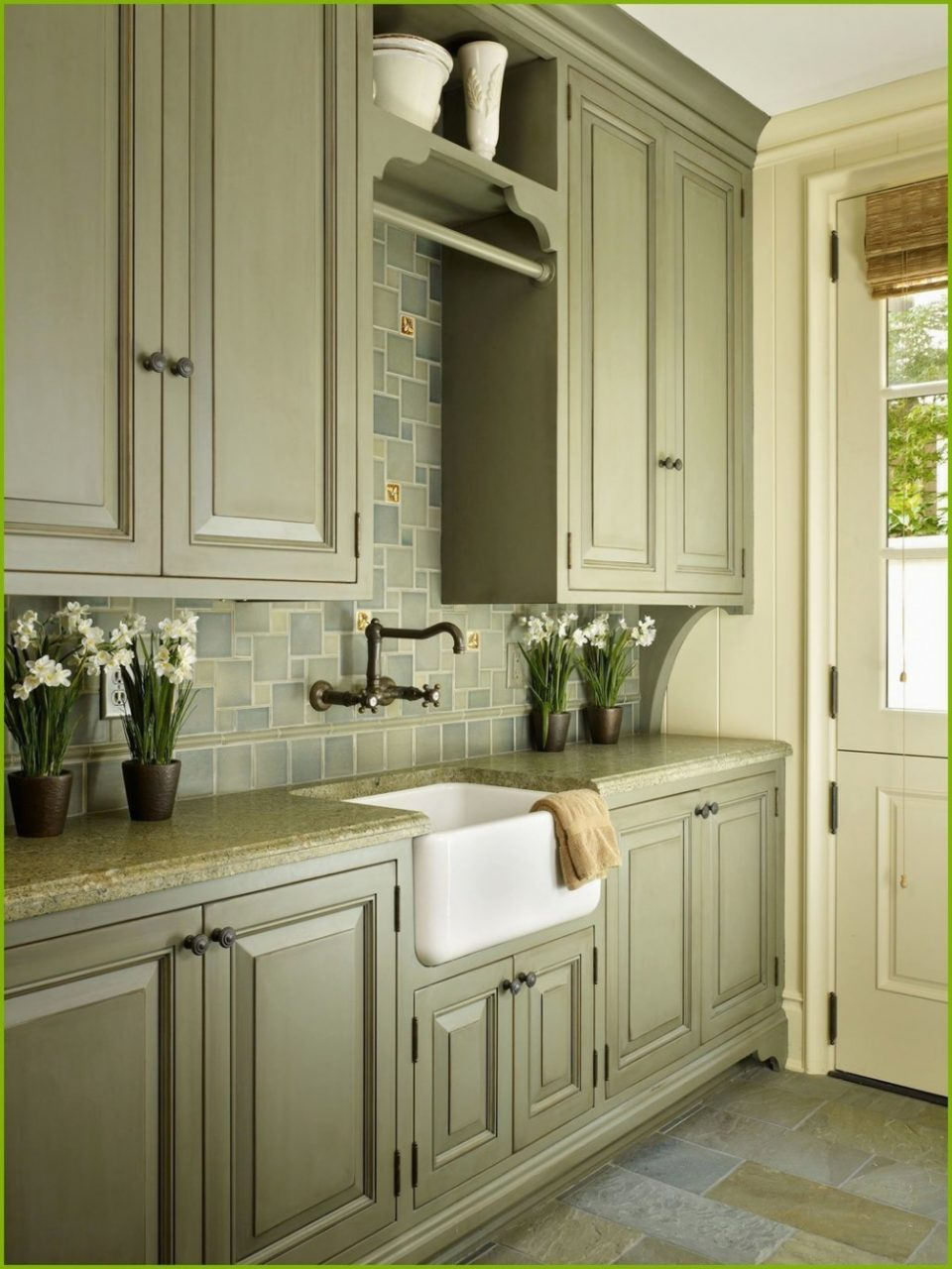 White Kitchen Cabinets Sage Green Walls Kitchen Cabinet Ideas