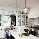 White Kitchen Island Pendant Lighting Kitchen Design