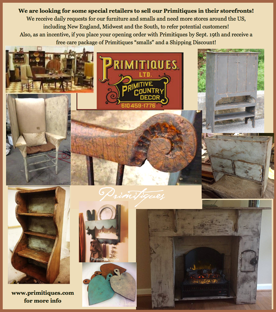 Wholesale Early American Colonial Reproduction Furniture