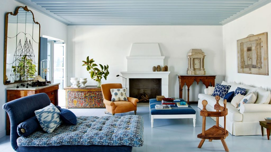 Why Blue Ceilings Are Such A Popular Tradition Architectural Digest
