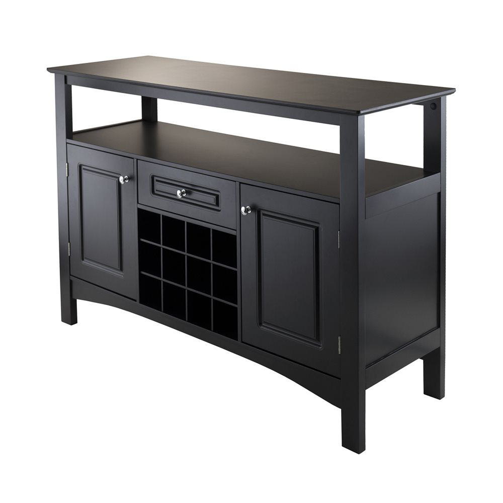 Winsome Wood Jasper Storage Buffet Lowes Canada
