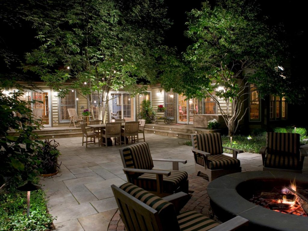 Yard Unique Landscape Lighting Outdoor Ideas Unique Landscape