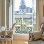1 Bedroom Paris Accommodation With Romantic Eiffel Tower View