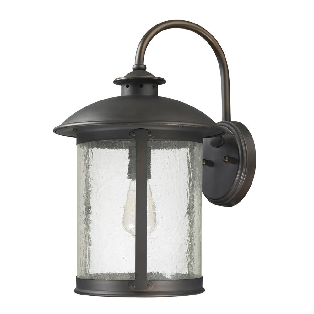 1 Light Outdoor Wall Lantern 9563ob Cartwright Lighting