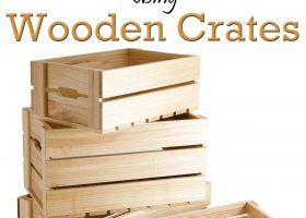 Pinterest Outdoor Wood Crates
