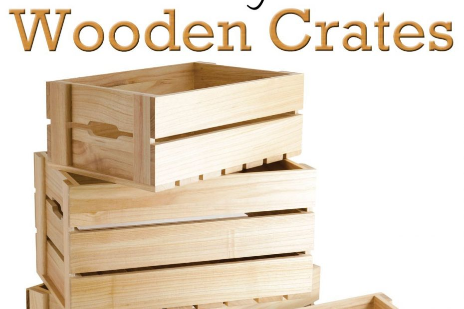 10 Diy Projects Ideas Using Wooden Crates Kastes Diy Wooden