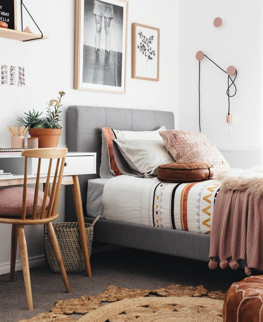 10 Dreamy Bohemian Bedroom Design Ideas For Kids Boho Bedroom
