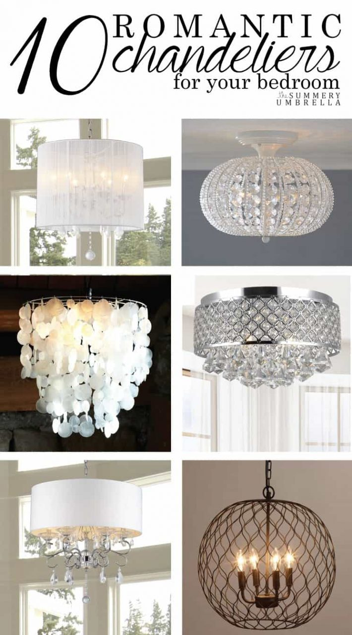10 Romantic Chandeliers For Your Bedroom The Summery Umbrella