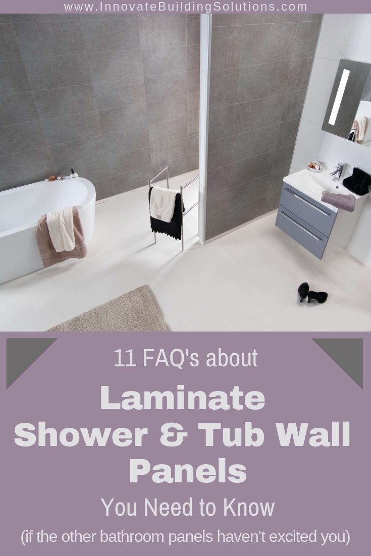 11 Faq About Laminated Waterproof Shower Bathroom Wall Panels