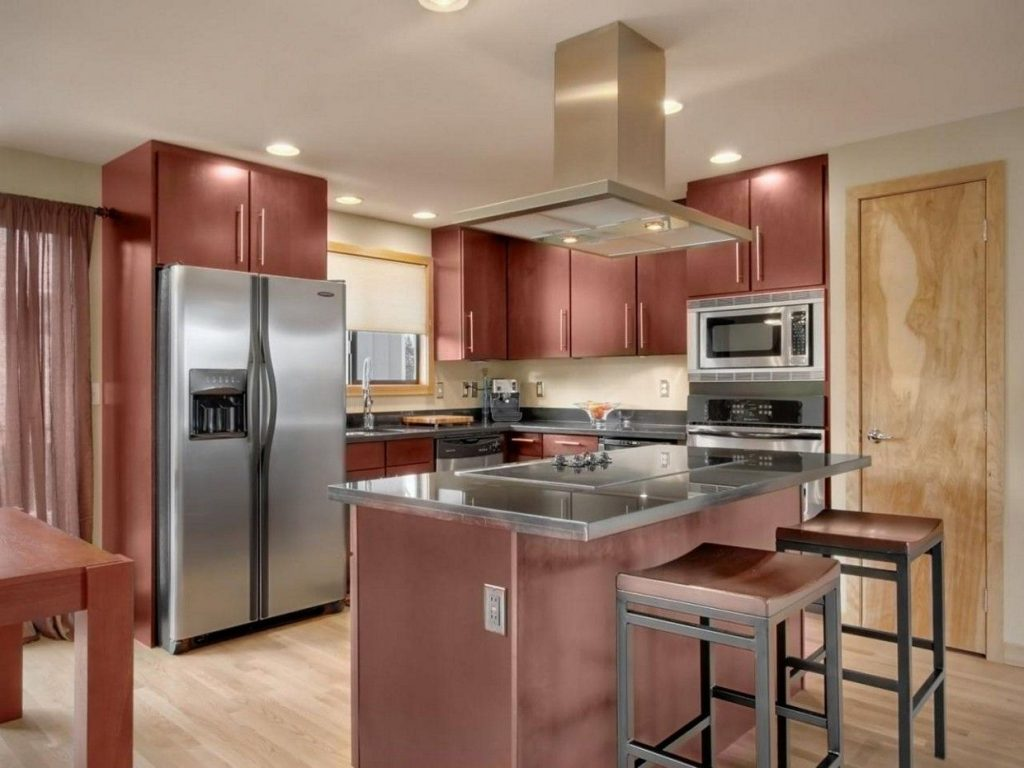 12 Exceptional Ideas Of The Cherry Kitchen Cabinets In Modern