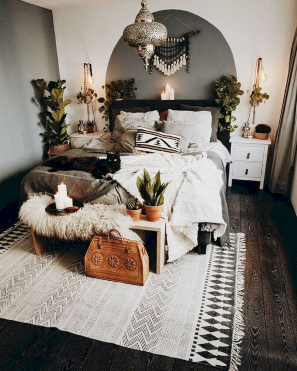 15 Lovely Bohemian Bedroom Designs Design Listicle