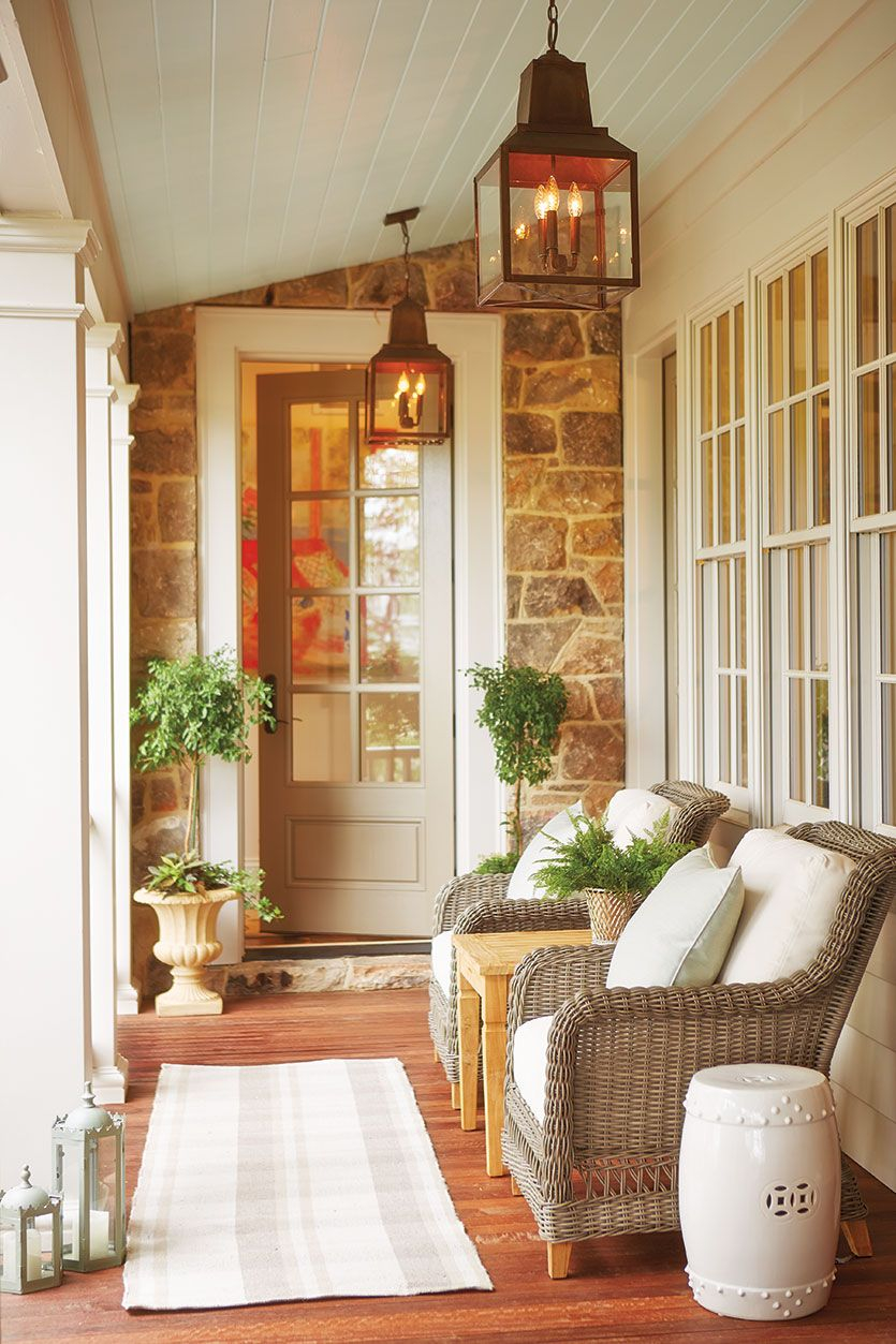 15 Ways To Arrange Your Porch Furniture Outdoor Decor Small