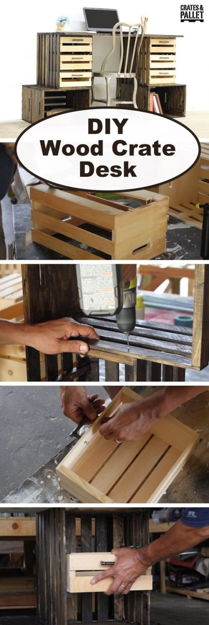19 Creative Diy Wood Crate Project Ideas How To Repurpose Old