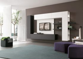 TV Wall Unit Furniture Living Room
