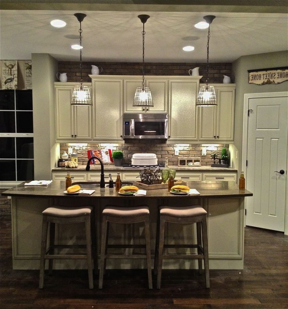 2 Light Island Pendant Fixture Hanging Island Lights Over Kitchen
