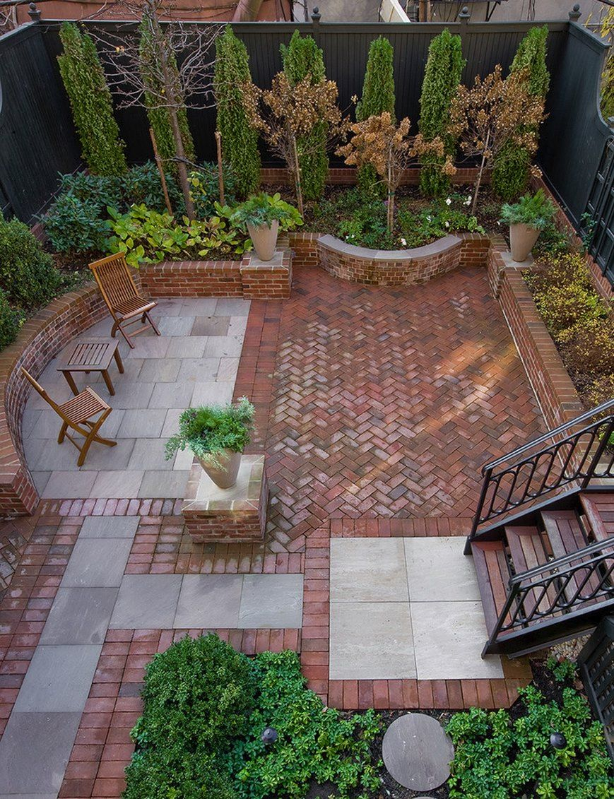 20 Charming Brick Patio Designs Garden Accesorys Backyard