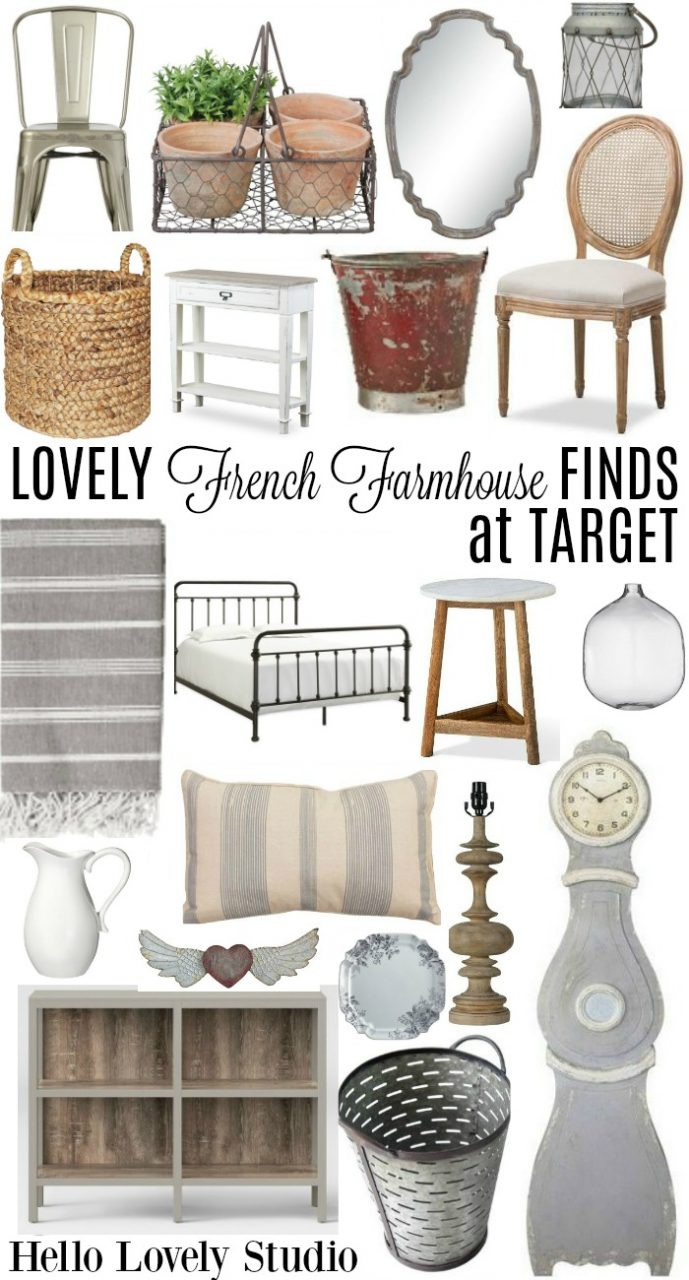 20 Lovely French Farmhouse Finds At Target Hello Lovely