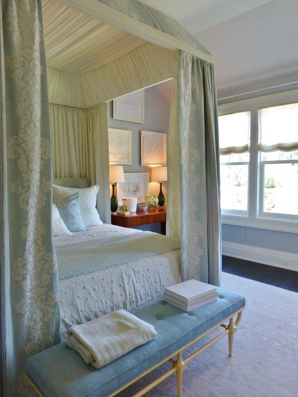 2014 Hampton Designer Showhouse Ultra Soft And Soothing Bedroom In