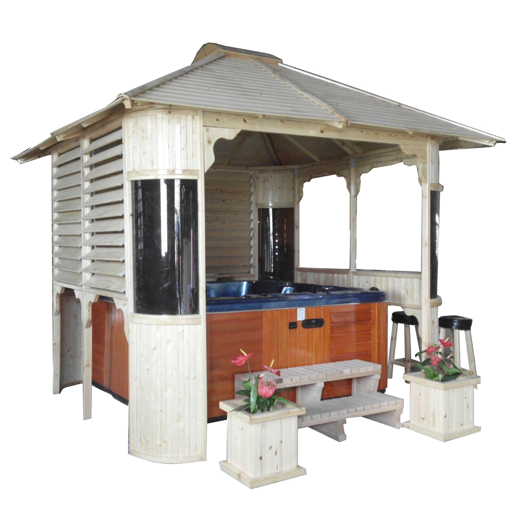 2016 Hot Sale China Factory Outdoor Hot Tub Gazebowooden Gazebogarden Gazebo For Sale Buy Gazebogarden Gazebohot Tub Gazebo Product On