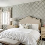 Hollywood Regency Gray Bedroom