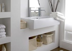 Feng Shui Small Bathroom