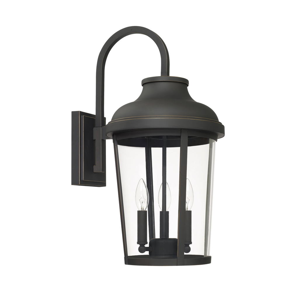 3 Light Outdoor Wall Lantern 927031oz Lighting Emporium