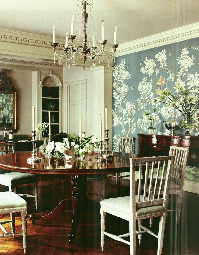 30 Awesome Picture Of Chinoiserie Dining Room Decorating Style
