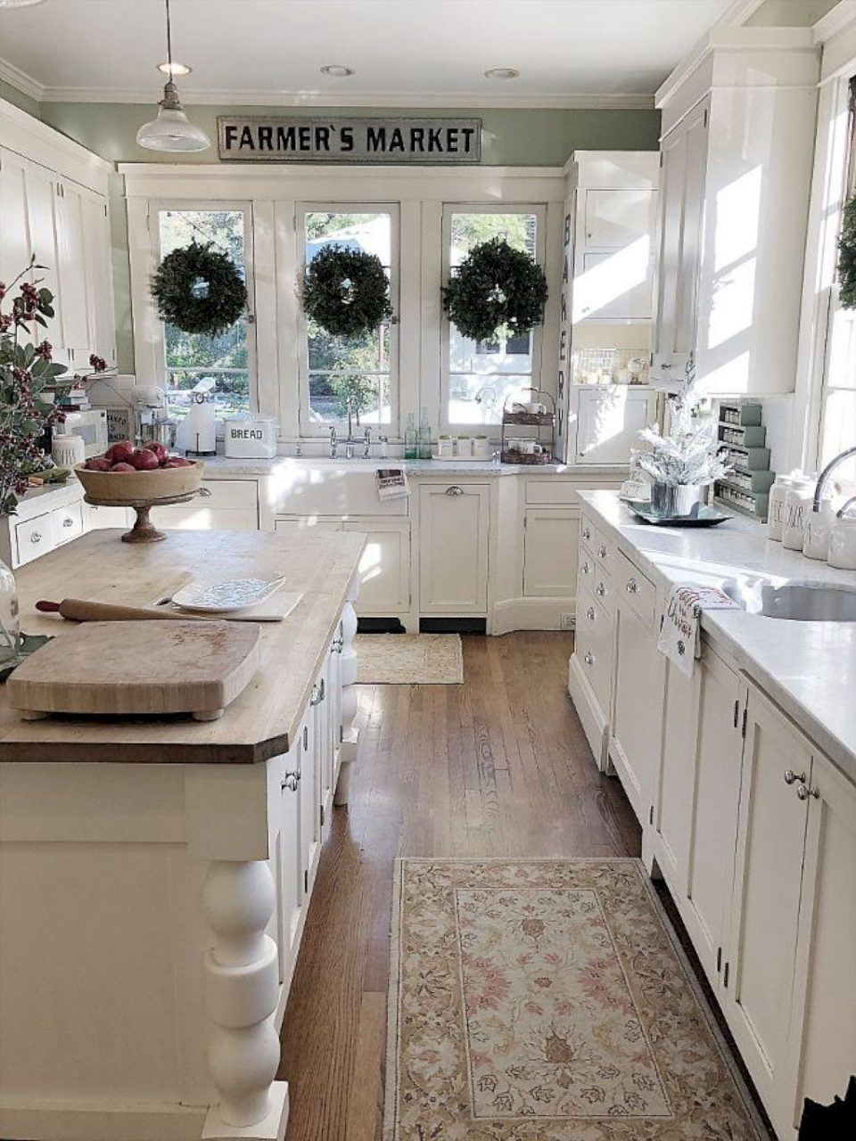 33 Modern Rustic Farmhouse Kitchen Cabinets Ideas Kitchen Make
