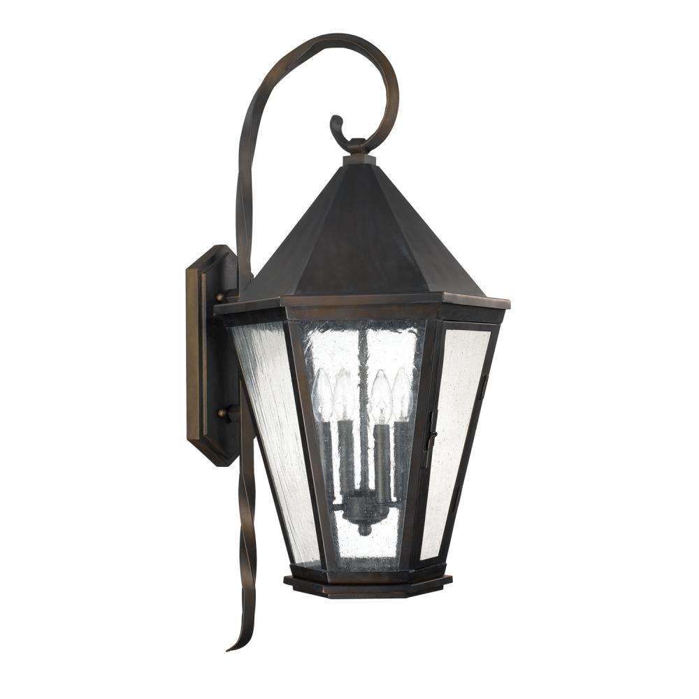 4 Light Outdoor Wall Lantern 9629ob Park Lighting