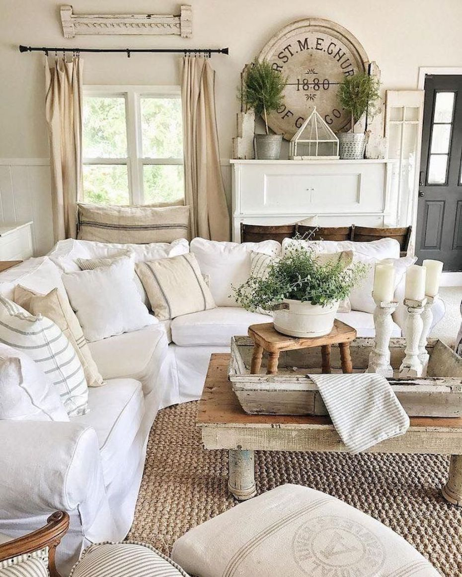 40 Best Cozy Farmhouse Living Room Decor Ideas A Lot Of Pins