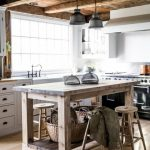 Rustic Farmhouse Kitchen Island
