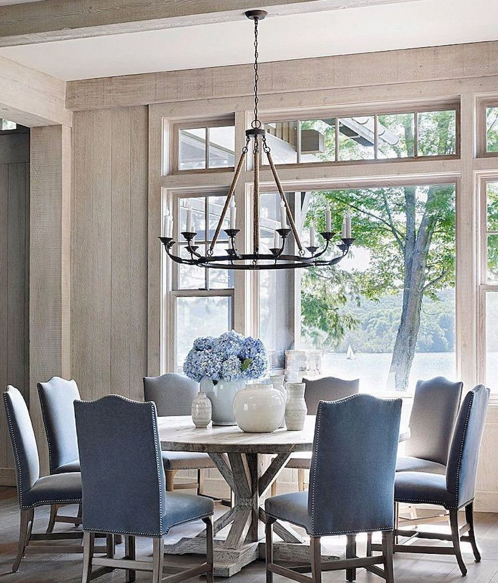 40 Rustic Dining Room Table Decor Ideas Parlor In 2019 Dining