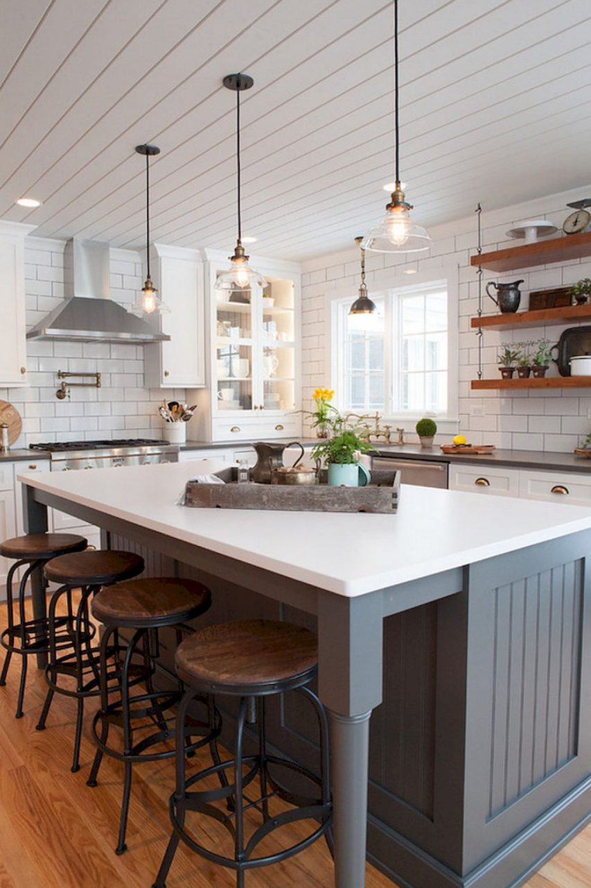 40 Rustic Farmhouse Kitchen Design Ideas 40 In 2019 Dream Home