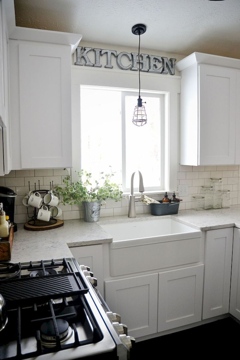 40 Stunning Farmhouse Kitchen Ideas On A Budget 25 In 2019