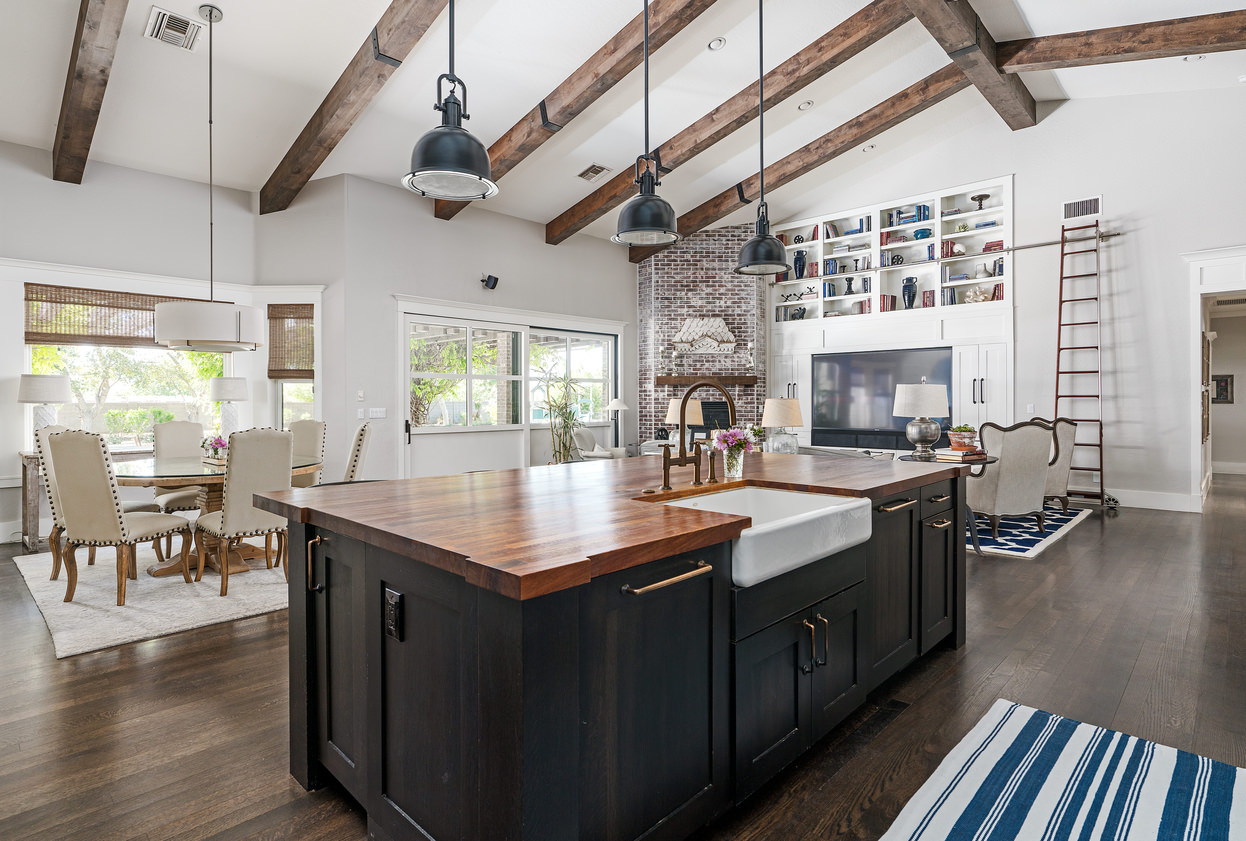 42 Open Concept Kitchen Living Room And Dining Room Floor Plan Ideas