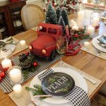 Simple Dining Room Christmas Decoration Ideas